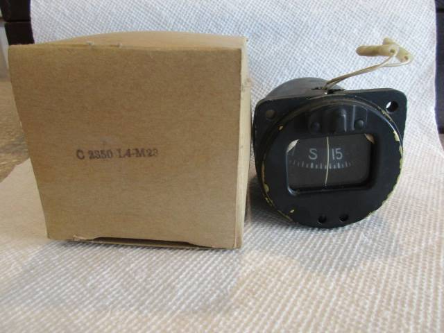 AIRPATH C2350 L4-M23 Lighted Aircraft Magnetic Compass
