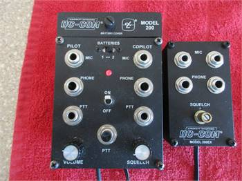 Dave Clark model 200 2 Place portable Intercom with Expansion
