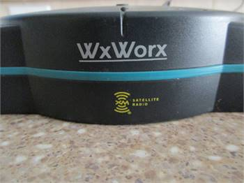 WX Worx XM Satellite Radio Weather USB Receiver - Includes all cables