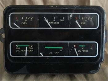 **** SOLD! **** Cessna 182 Engine Instrument Cluster ****SOLD !! ****