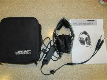 Bose Aviation X Noise Cancelling Headset
